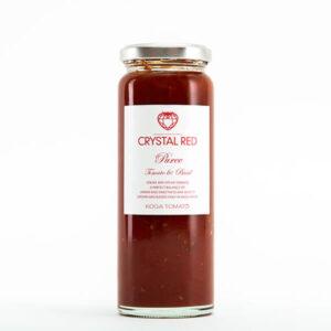 CRYSTAL RED ピューレ トマト&バジル